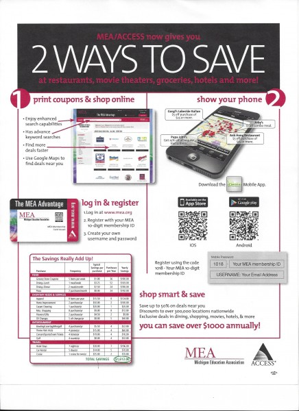 2Ways2Save Flyer